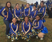 Samuell Starlets participate in the 2017 MLK Parade