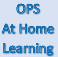 OPS - At Home Learning Resources