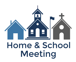 First Home & School Meeting!!!
