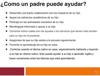 Parent Webinar Spanish