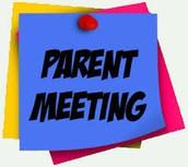 You are Invited - Parent Curriculum Focus Meeting