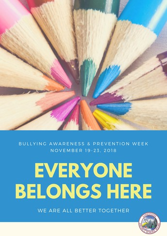 Bullying Awareness & Prevention Week