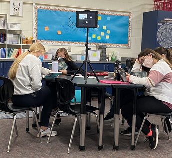 High School Language Arts Implement Book Clubs