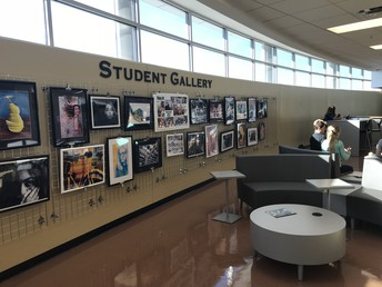 Student Art Gallery & Casual Seating