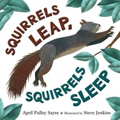 "Book of the Month - ""Squirrels Leap, Squirrels Sleep"""