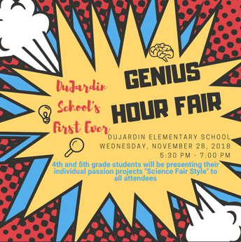 Genius Hour Fair