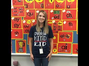 Megan Craddock: 1st Grade
