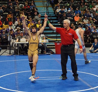 Homer Wrestlers Win State