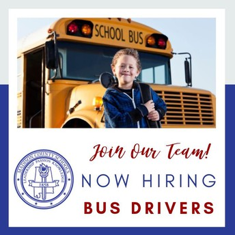 We Are Hiring Bus Drivers!