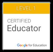 Google Educator Certificaton