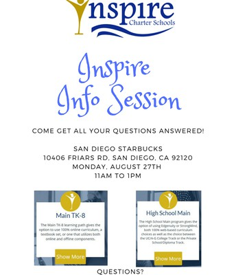 Inspire Info Session