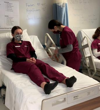 CRTC Health Science Students Begin LNA and EMT Training
