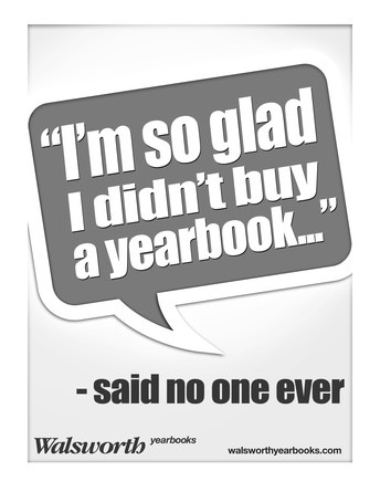 Yearbook Early Bird Discount - Order Now To Save