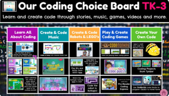 Coding Choice Boards