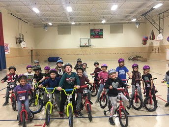 Henry Elementary Students Enjoy Unique PE Experience
