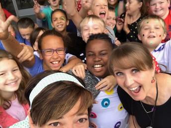 5th Grade Dot Day Selfie