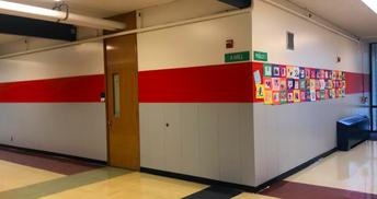 New Paint, New Look for Cedar Park Hallways