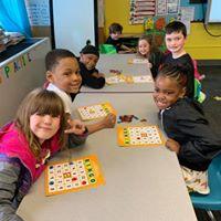 Kindergarten/Bazinet Bingo Winners
