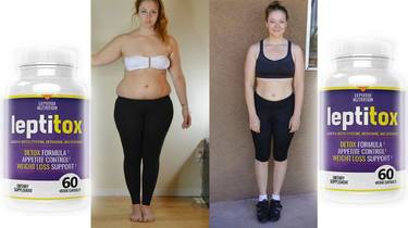 Before and After Results with Leptitox