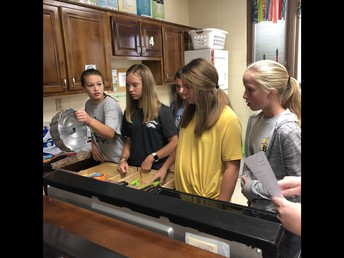 Mrs. Agee's Students are Learning to Cook!