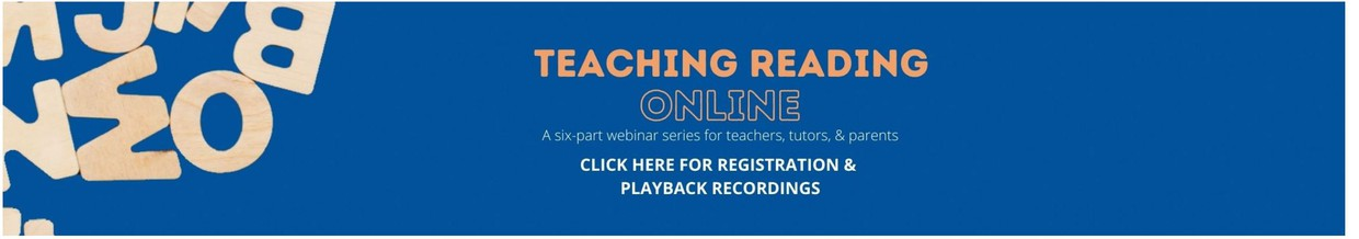 University of Florida Literacy Institute has released wonderful webinar resources for teaching reading virtually. They offer lesson structures, instructional activities, tech tools and even behavior management strategies.