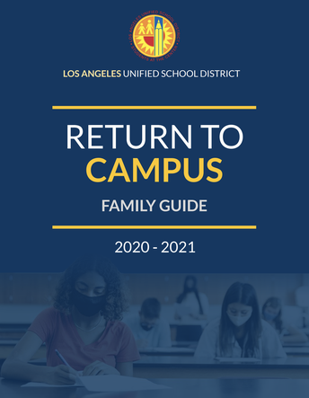 Return to Campus Family Guide and Program Selection Form