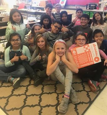 Mrs. Moritz's 4th graders