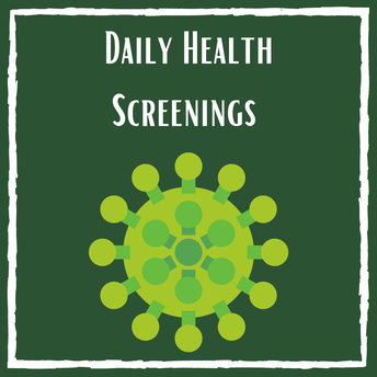 Health Screenings - Attention Families!