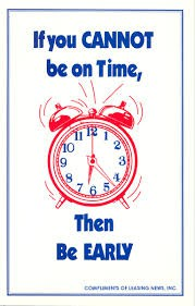 Tardy Policy Reminder