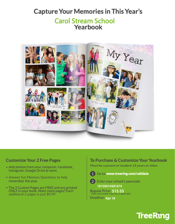 Order your 20-21 Yearbook