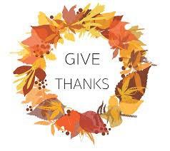 Thanksgiving Food Drive:  November 4-20