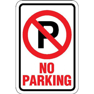 No Parking on Cherry Street