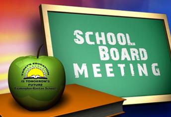 Board Meeting Monday