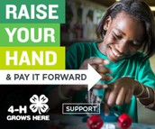 "National 4-H - ""Raise Your Hand"""
