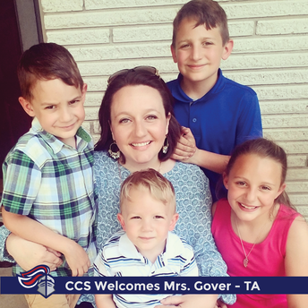 Mrs. Cynthia Gover - Teaching Assistant