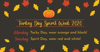 Turkey Week-Spirit Week