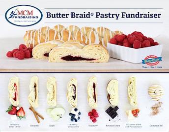 Butter Braid Fundraiser / Recaudación de fondos de Butter Braid