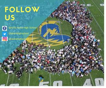 Follow us!  Like us!