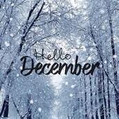 Mark Your Calendar - December