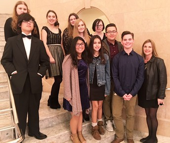 French Club Enjoys Fine Dining & the Symphony