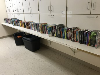 Builder's Club Book Drive Success