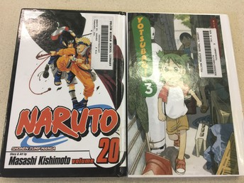 Naruto is one of the library's most sought-after series!