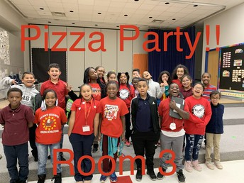 Winners of the Pizza Party!!