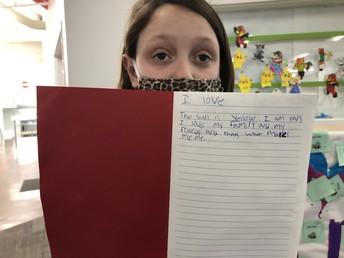 Zoey's Poem - I Love