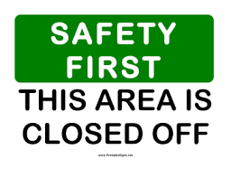 GRANT OUTDOOR FACILITIES ARE CURRENTLY CLOSED