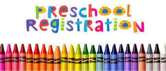 It's time to register for preschool!