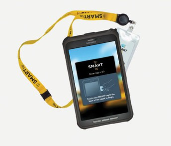 picture of school bus smart tag