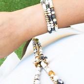 Nomad Stretch Bracelets - set of 3