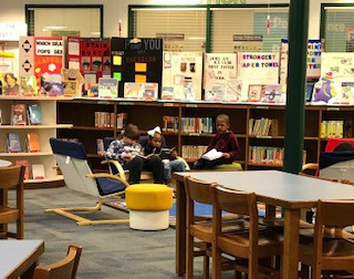 Small Group Reading Areas
