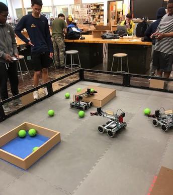 Robotics Rumble at the High School